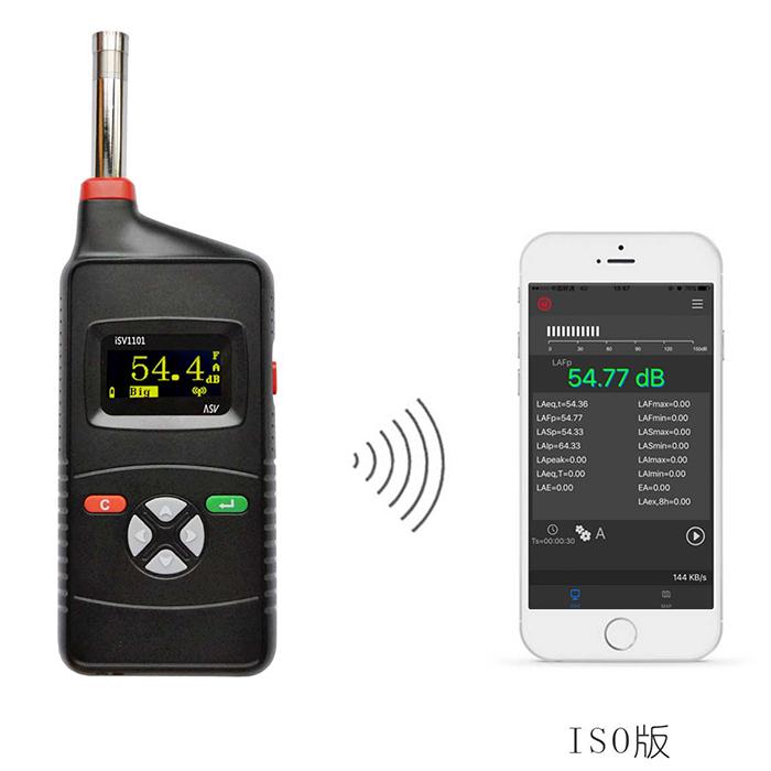杭州爱华仪器有限公司iSV1101声级计